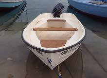 قارب فايبر 4م مع محرك ياماها15