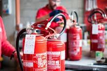 الوكيل لي تجهيز  ومبيع وصيانة كافة أنواع أجهزة الاطفاء الحريق والامن الصناعي