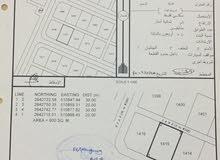 للبيع  أرض سكنية الموقع (البريك ) ولاية الخابورة .