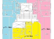 شقه في المربع الذهبي بمدينة نصر بالمنطقة السادسة