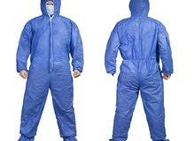 ملابس وقاية و حماية مقاومة للماء و للغبار متعدد الاستعمالات و قابل للغسيل مرات ت