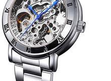 ساعة نسائية تعمل بنظام الاوتوماتك (حركة اليد)