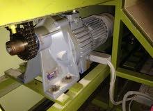 محرك صناعي + كمبيو،مبدل سرعات helical geared motor,ايطالي الصنع motovario