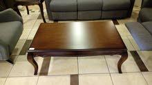 طقم كنب ريكلاينر 6 مقاعد وطقم طاولات وسط + 2 جانبي صولد