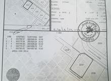 ارض سكنية بالمرحلة الاولى الدقل مساحتها 600 م