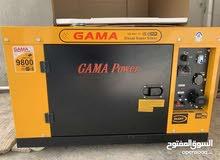 هونداي.//// مولد لبيع نوع GAMA  نافتة 9800 k
