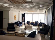 شقة ارضية طابقية فاخرة للبيع في دير غبار 340م مع حديقة وترسات 60م