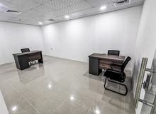 Physical office  (daily use) for  rent located in Hidd