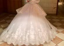 فستاان زفاف استعمال مرة واحدة فقط