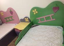 سرير نوم للبنات