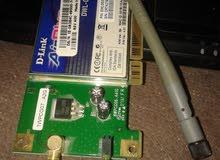 جهاز d-link لاستقبال الواي فاي وتشغيل الانرنت علي الكمبيوتر المكتبي دسك توب