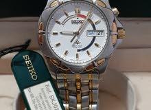 ساعة سيكو الماني اصلي موديل 1995 Seiko Kinetic 5M43-0A70