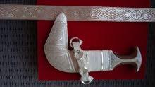 خنجر تكاسير بقرن زراف هندي (