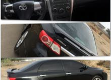 For sale 2011 Black Corolla