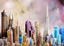رسم لوحات فنية حسب الطلب ( زيتي اكريليك مائي  درونغ بنسل )