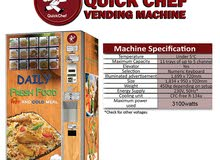 Gourmet Vending Machine for Sale - URGENT