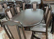 طاولة 6 كراسي