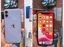 ايفون 11 لون بنفسجي 128 GB