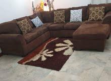 home centre L shaped sofa