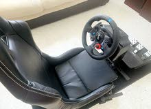 game seat and g29 with shifter for ps4 with receipt