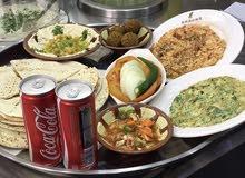معلم مطعم حمص فلافل سناكات