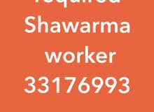 Shawarma worker required