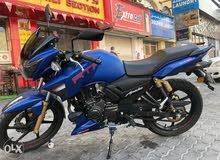 TVS apache 180 2021 new condition bike