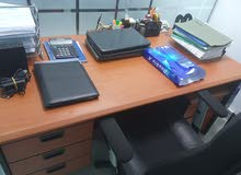 Manager Table 2m with Drawer & Wheels Drawer