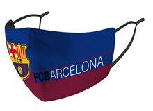 قناع و جه نادي برشلونة للكبار و الصغار فابل للغسيل و اعادة الاستخدام FC Barcelona face mask