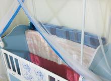 سرير نوم اطفال 100%100 نظيف قضاء المدينه