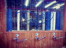 محطة مياه في منطقة حي الجندي