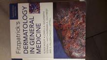 كتاب طبي للأمراض الجلدية السريرية مستعمل الطبعه السابعه