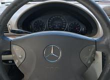 للبيع سيارة مرسيدس بنز E240 موديل 2004