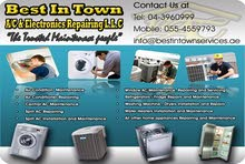 Washing machine, AC, Home Appliances Repair - BIT Services