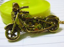 تعليقة  دراجة نارية مع سنسال ستانلس ستيل مطلي جديد للبيعMotorcycle pendants   go