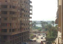 شقة 165م مدخل الدواجن الرئيسى ترى النيل 3/4 تشطيب(بدون نجارة ودهانات)