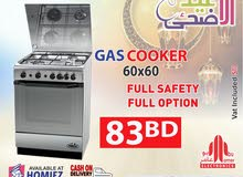 Frego Gas Cooker 60x60