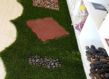 تشكيلة متعددة من العشب الصناعي للحدائق