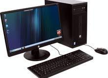 للبيع 3 جهاز كمبيوتر نوع hp  الاصلي كور 2 ديو كامل