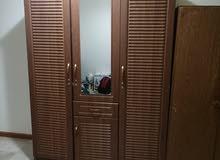 bedroom cupboard used