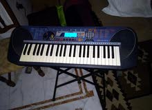 Yamaha piano model PSR 140 with stand