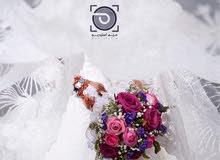تصوير الأعراس وحفلات الزفاف ومختلف المناسبات