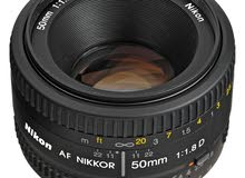 nikon 50mm lens for portrait and blur background