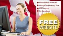 احصل على موقع ويب عالمي خاص بيك او بشركتك - مجاناً مدى الحياة