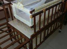 سرير اطفال 2*1سرير كبير بداخله سرير صغير