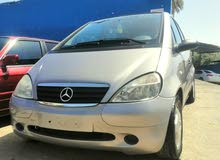 Mercedes Benz A 160 car for sale 2000 in Tripoli city