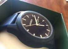 للبيع ساعة لاكوست اصليه وترتبط على الجوال وتستقبل الاشعارات