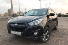 Automatic Black Hyundai 2015 for rent