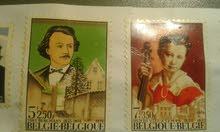 طوابع بلجيكا حلو للبيع يهمني رأي جميع