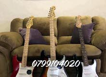 جيتار الكترك فندر امريكي اصلي جديد غير مستخدم مسكر بالكرتونه USA